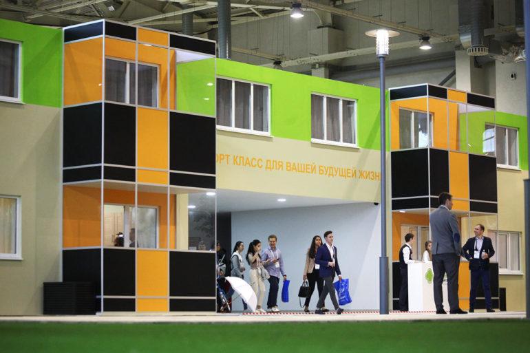 Экспозиция на ВДНХ шоу рум квартир по реновации