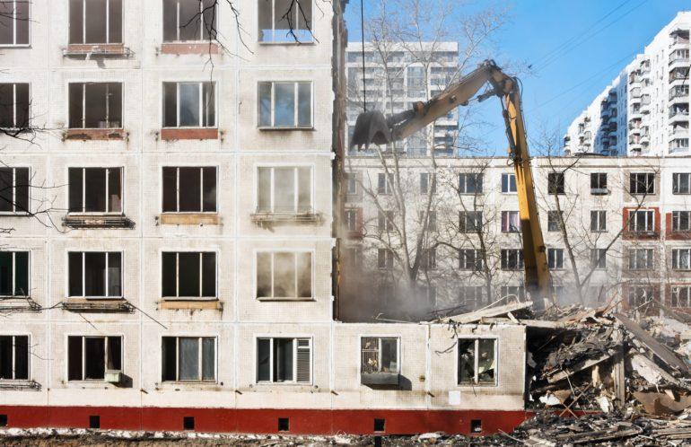 Когда начнут сносить первые пятиэтажки по программе реновации?