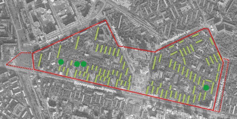 Внедрение программы реновации района Кузьминки